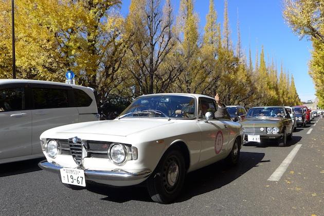 トヨタ博物館 クラシックカー・フェスティバル in 神宮に、愛車の1967年型アルファ ロメオ 1300GTジュニアで参加した!(後編)