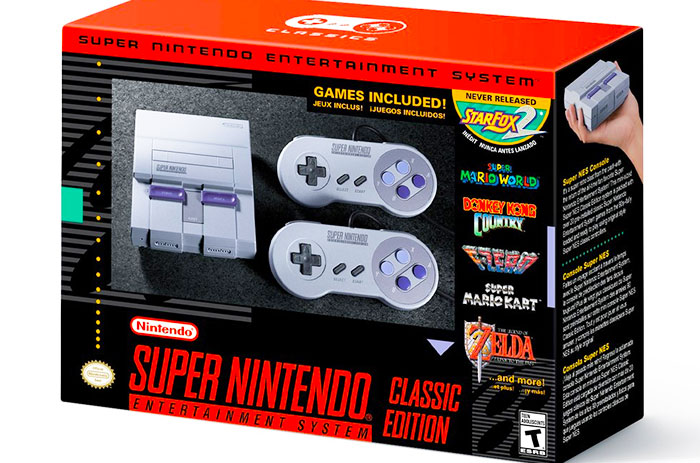 The SNES Classic is real, arrives on September 29th for $80