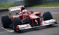 Vettel in the F2012