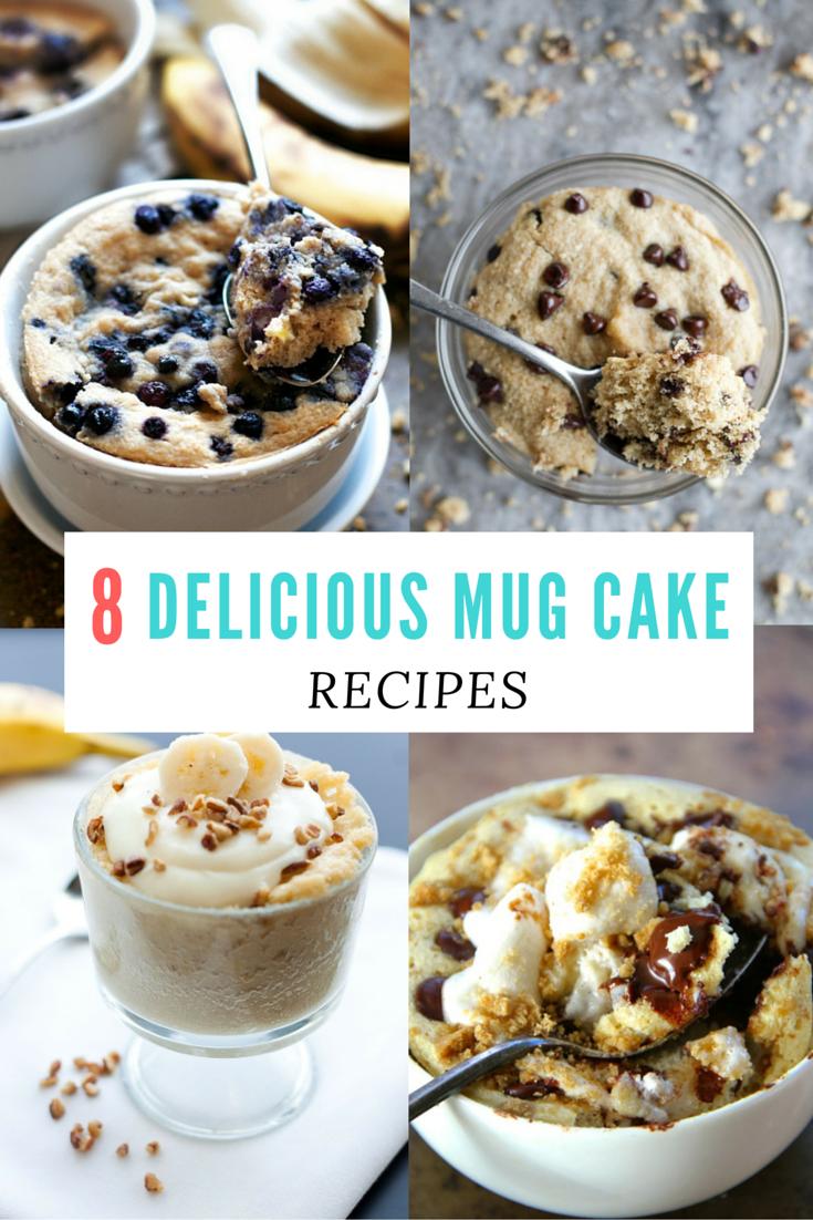 8 Indulgent Mug Cake Recipes You Can Make In