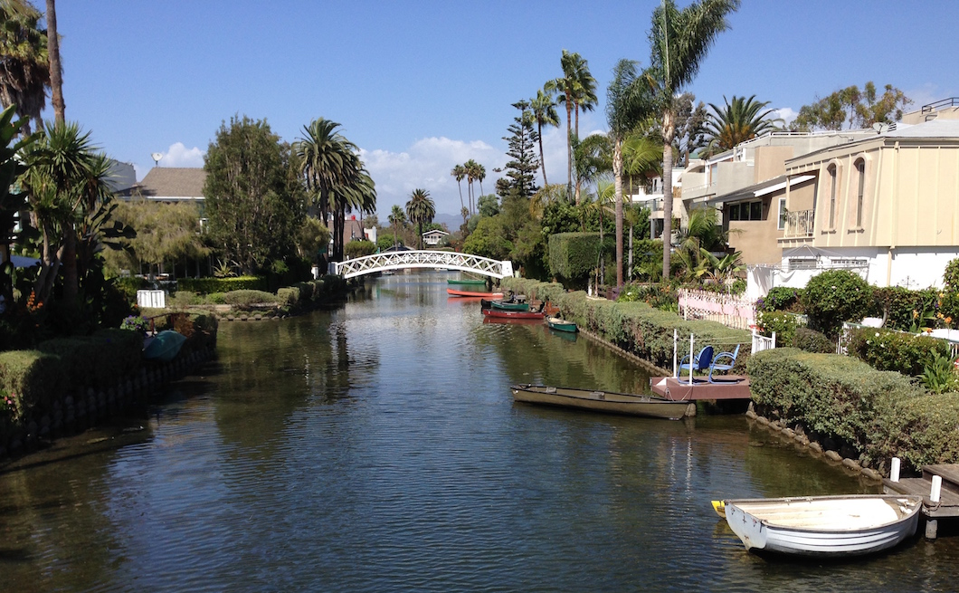 The Venice Canals of Los Angeles