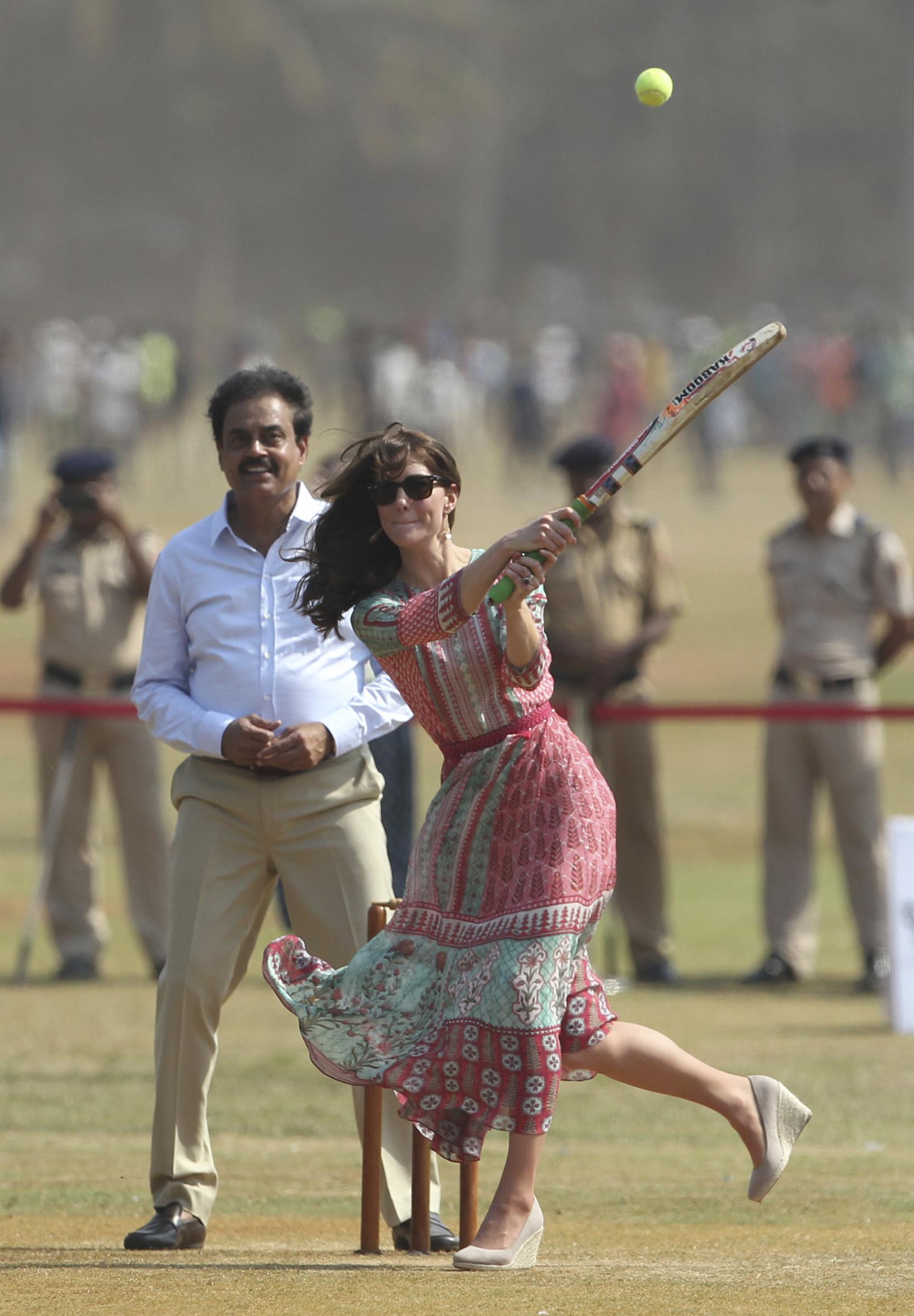 APTOPIX India Royal Visit
