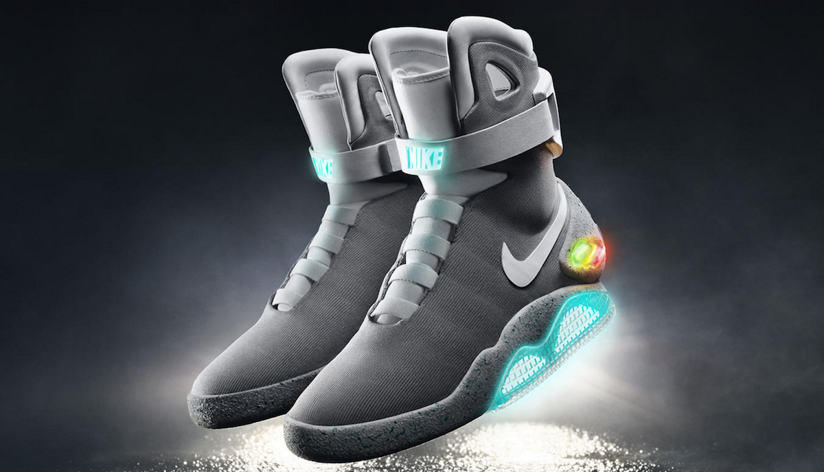 f5c4baad2c4b Nike s power-laced  Back to the Future  shoes arrive in 2016