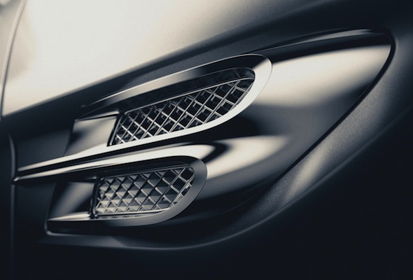 Bentley Motors wing ornament