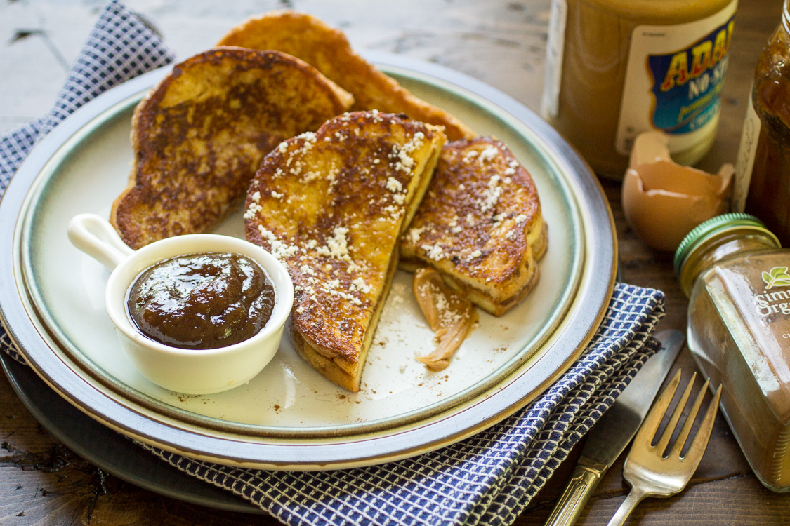 The Post Peanut Butter And Jelly Stuffed French Toast First Appeared On The  Wanderlust Kitchen Related