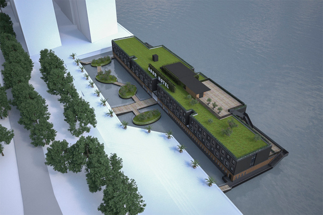Good Hotel, floating hotel in London
