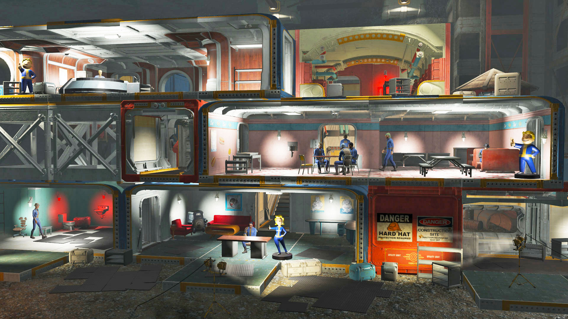 Build your very own vault in 39 fallout 4 39 july 26th How to make your own house in fallout 3