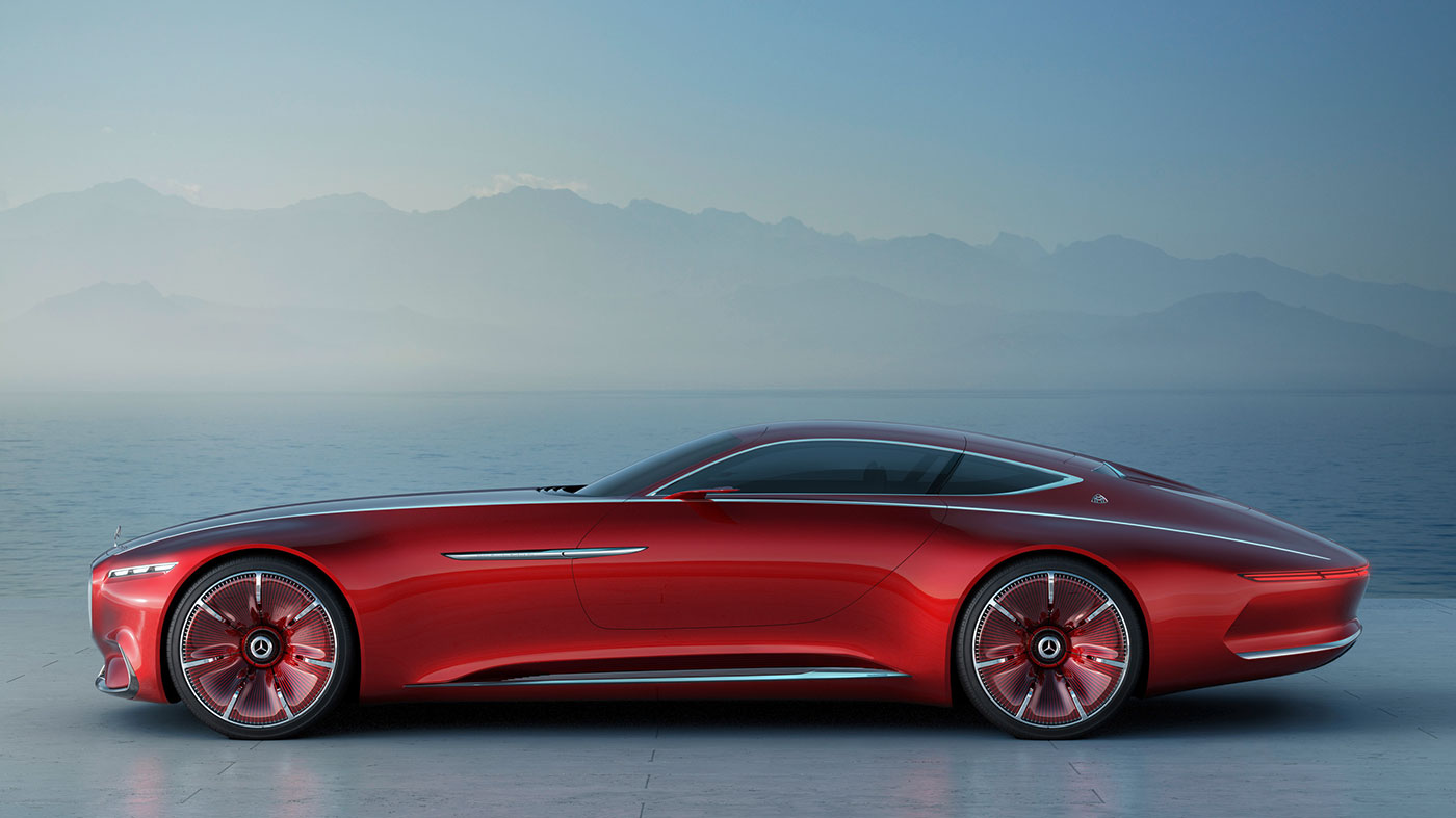 MercedesMaybach Concept Is A Look At The Future Of Luxury Cars - Luxury cars