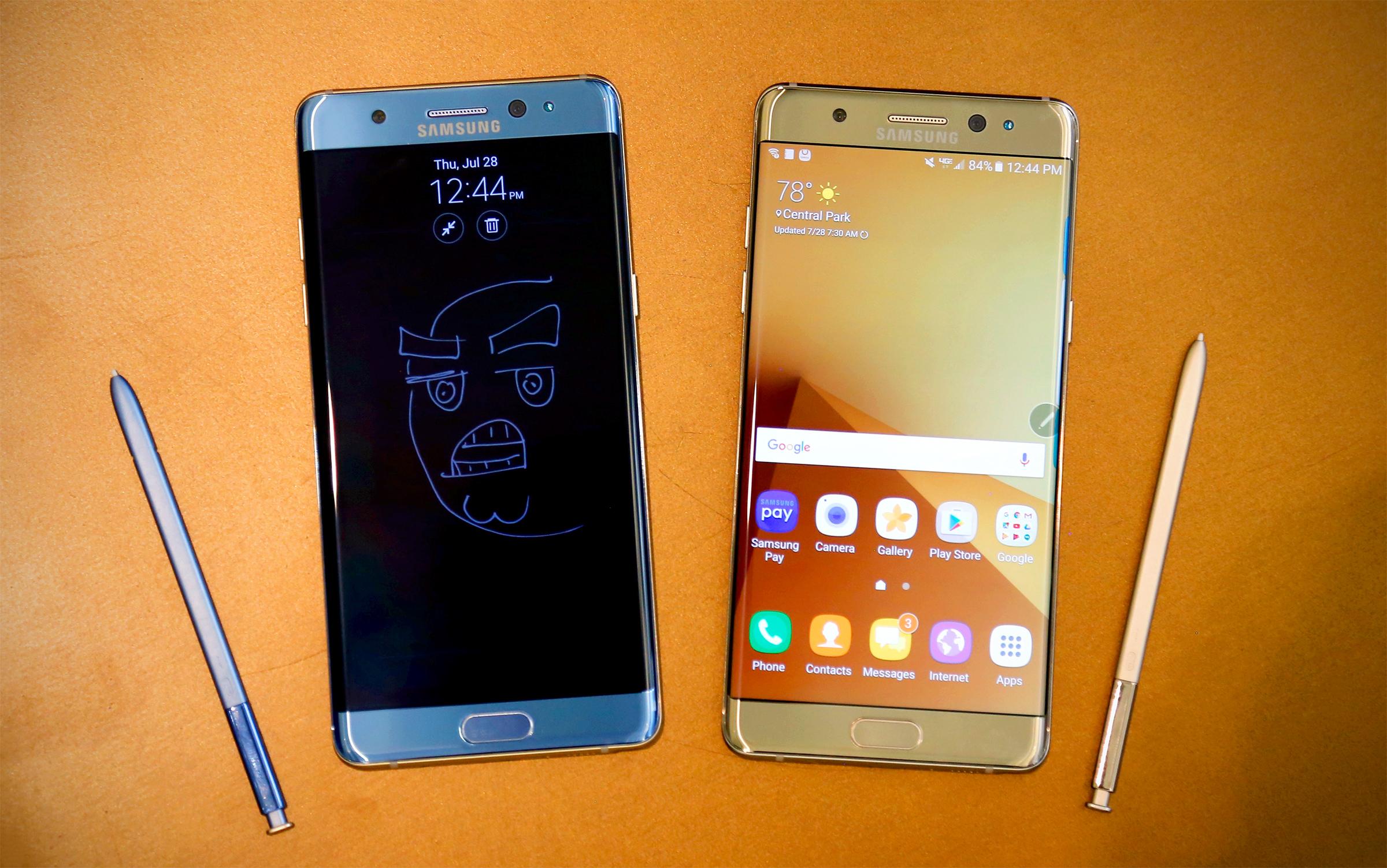 三星 Galaxy Note 7 预览:防水、大电量、虹膜解锁都给你
