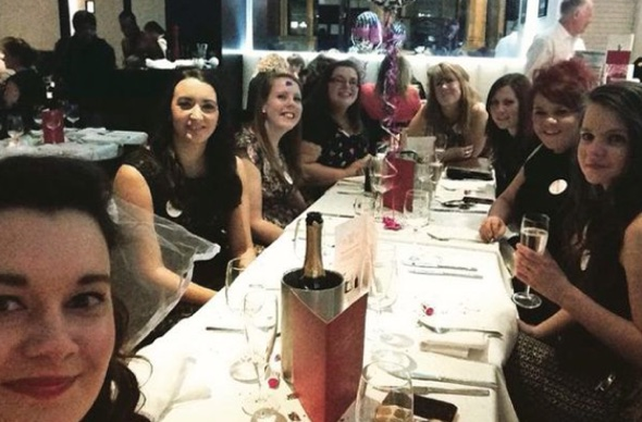 Restaurant brands hen party 'chav cheap trash' after negative online review
