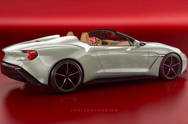 Aston Martin Vanquish Zagato Speedster Could Be Set For 2018 Arrival