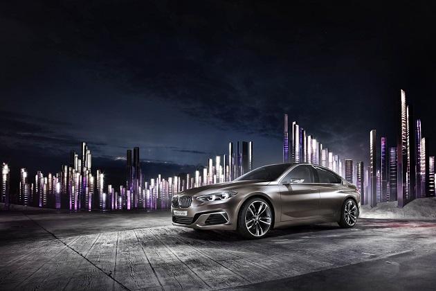 BMW、広州国際モーターショーで「コンセプト・コンパクト・セダン」を初公開