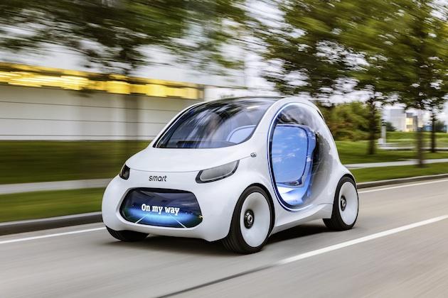 【フォト&ビデオ】スマートが、未来の自動運転シティカー「Vision EQ Fortwo」を発表
