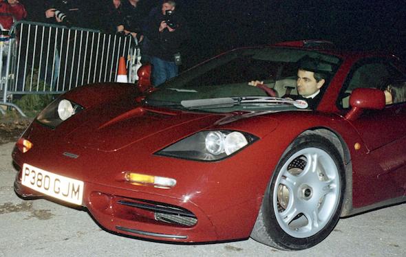 Rowan Atkinson's F1