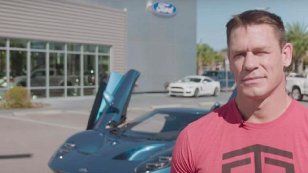 ジョン・シナ、「フォードGT」の転売を巡る訴訟でフォードと和解