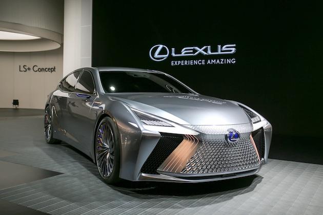 【東京モーターショー2017】レクサス、次世代デザインと最先端自動運転技術をいち早く採用したコンセプトカー「LS+ Concept」を公開!