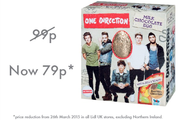 Lidl One Direction egg