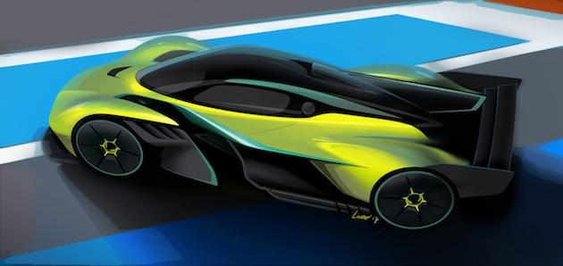 アストンマーティンがサーキット専用車「ヴァルキリー AMR Pro」を開発中! 速さは最近のF1マシンやLMP1並み