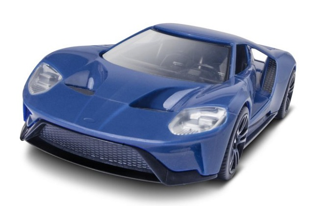 フォード、北米国際自動車ショーで新型「フォード GT」の組み立て式モデルカーを無料配布