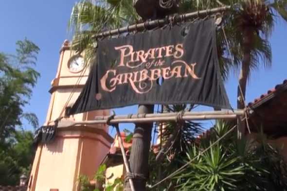 British tourist loses fingertips on Pirates of the Caribbean ride at Disney World