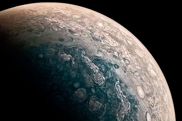 NASA probe Juno captures Jupiter's poles in glorious detail
