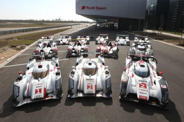 アウディとマクラーレンの優勝マシンが、今年のル・マンに集結!