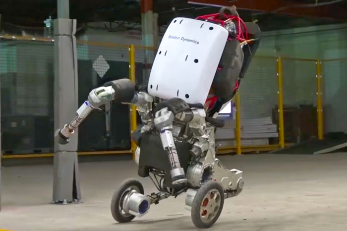 Boston Dynamics officially reveals its rolling 'Handle' robot
