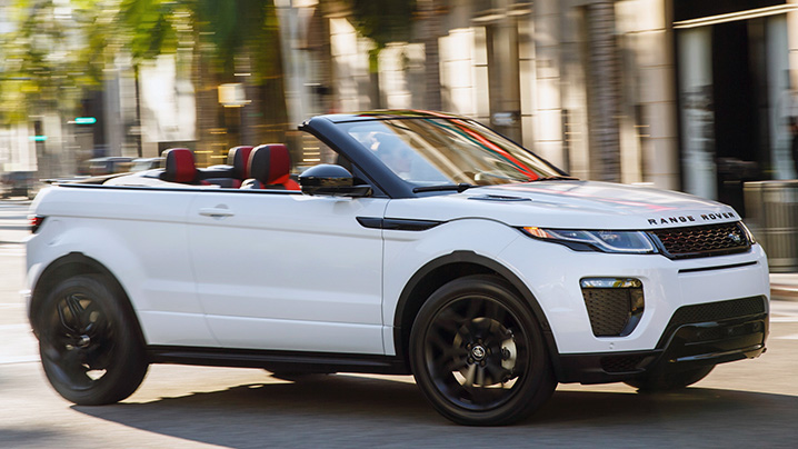 The Range Rover Evoque Convertible Is Absurd And Strangely Appealing