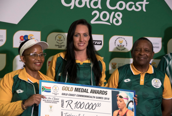 This Is How Much Cash SA's Commonwealth Games Heroes Got From