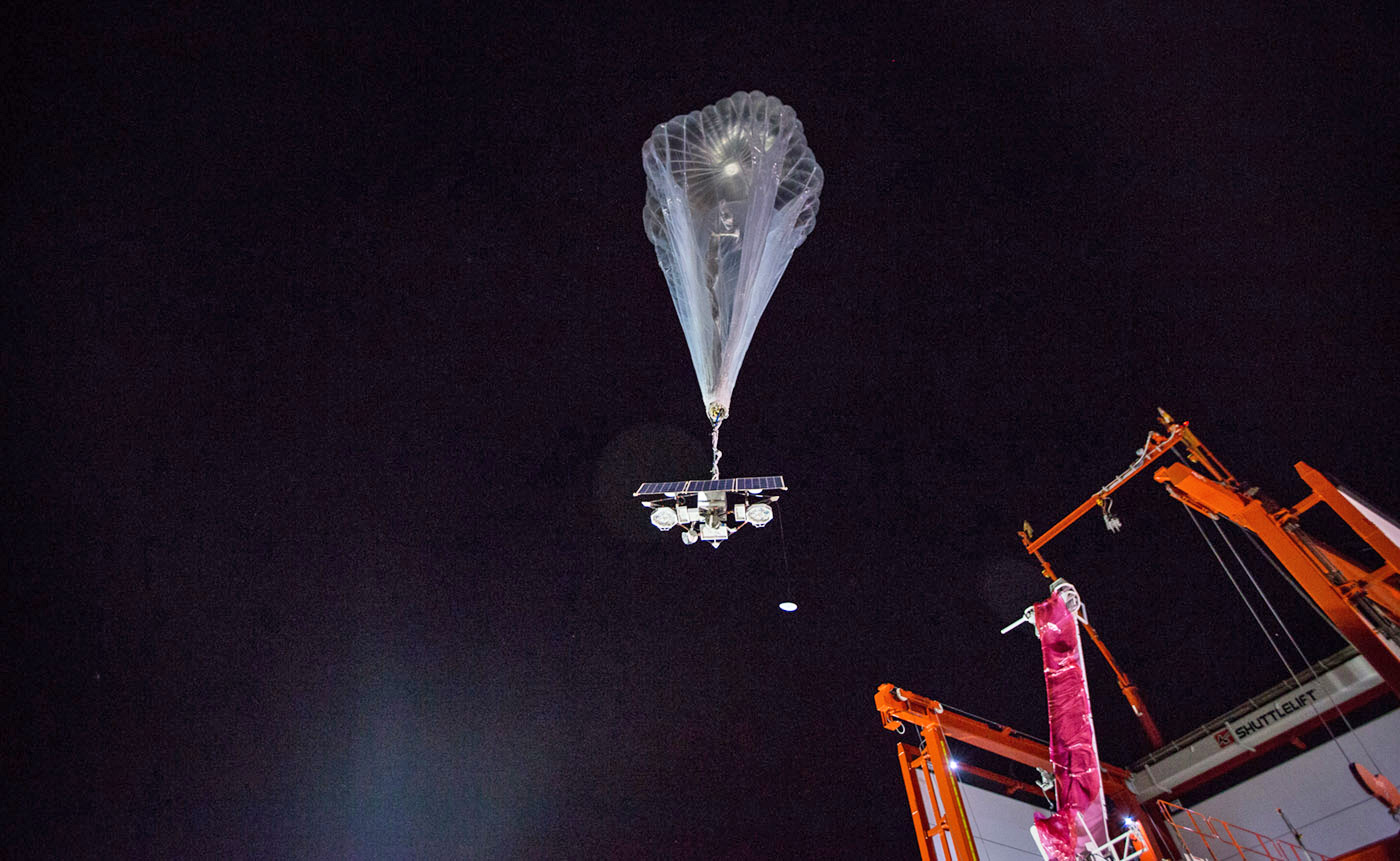 Project Loon Shows Off Autolauncher At Work In Puerto Rico Engadget
