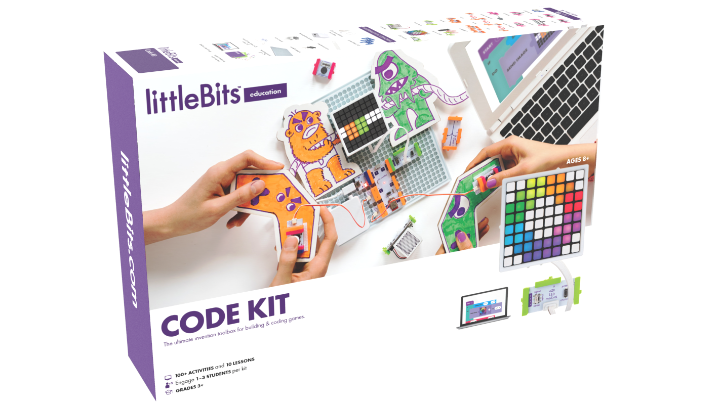 littlebits new kit teaches kids to build and code electronic games rh engadget com