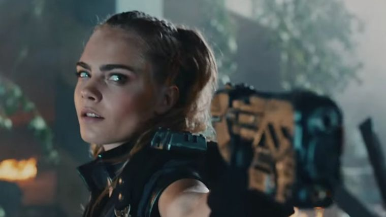 Supermodel Carla Delevingne is a passionate gamer and appeared in the trailer for Black
