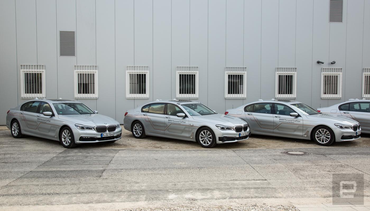 Inside BMW's Autonomous Driving Campus