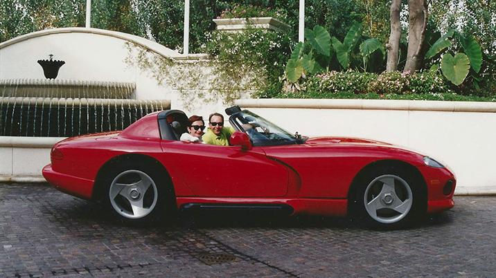 Dodge Viper with Tom Kowaleski