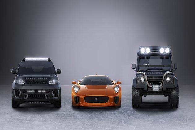 映画『007』シリーズ最新作『Spectre』にジャガーとランドローバーが登場