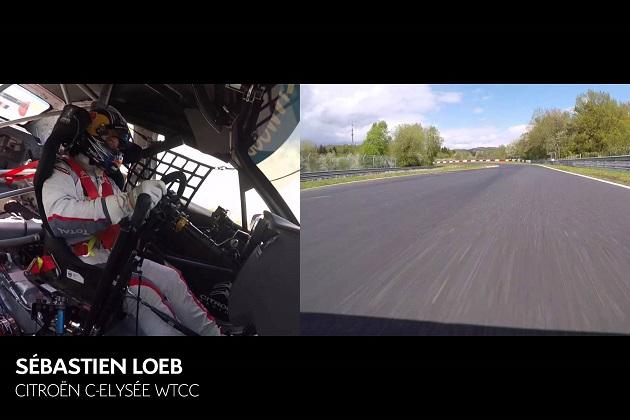 【ビデオ】セバスチャン・ローブ、ニュルブルクリンク北コースに挑む!