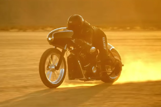 【ビデオ】インディアン「スカウト」のカスタム・バイク