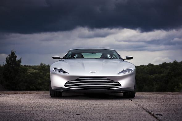 Aston Martin DB10  July 2015.   Photo: Drew Gibson