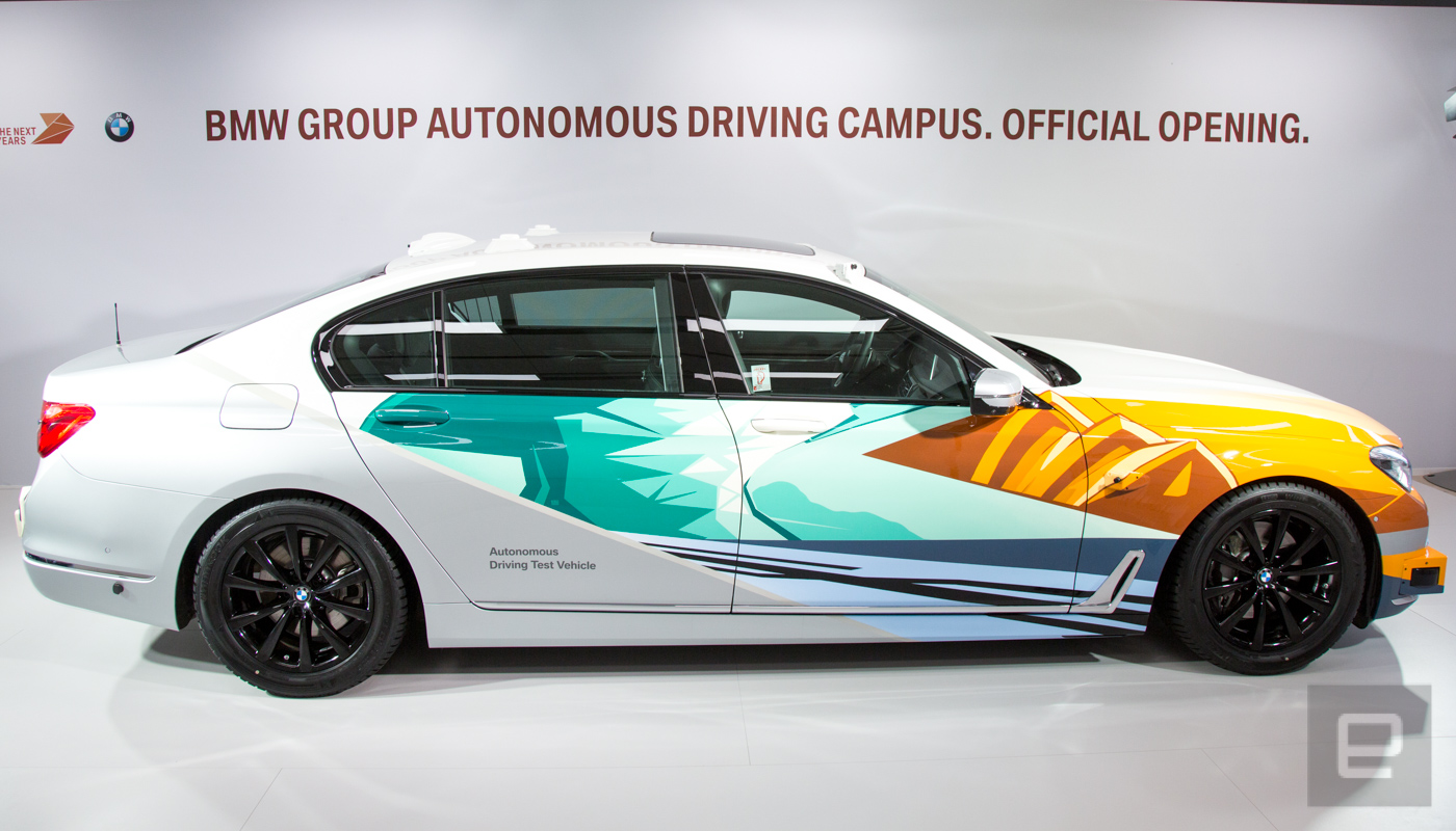BMW\'s new research center is dedicated to autonomous driving