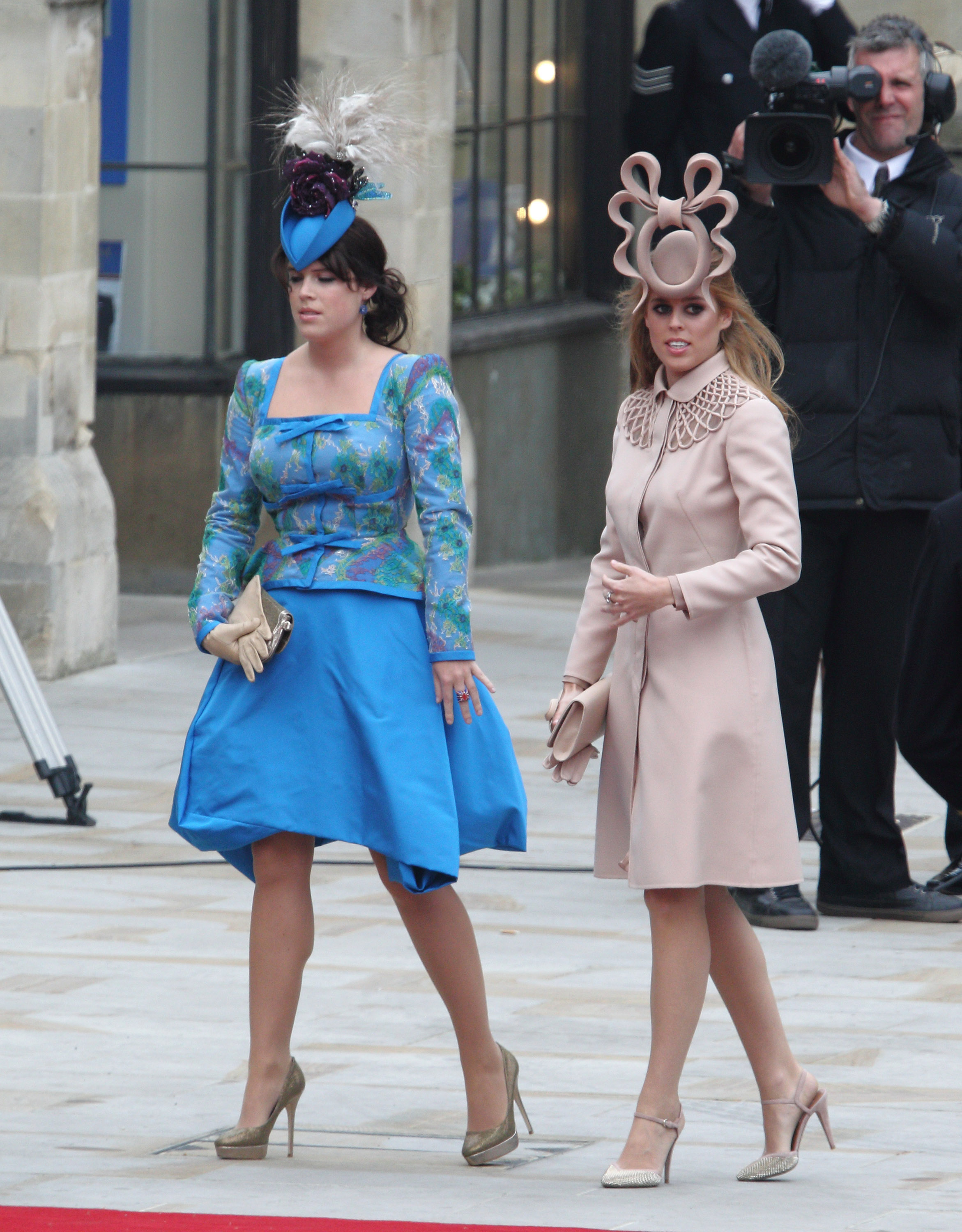 Princesses Beatrice And Eugenie Admit They Cried After Being