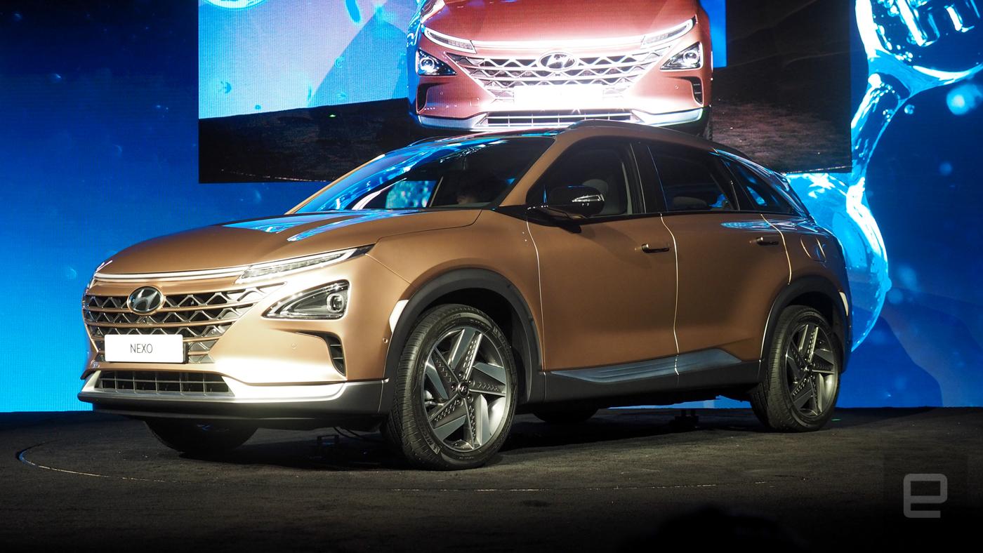 Hyundai NEXO proves hydrogen fuel cells still have potential