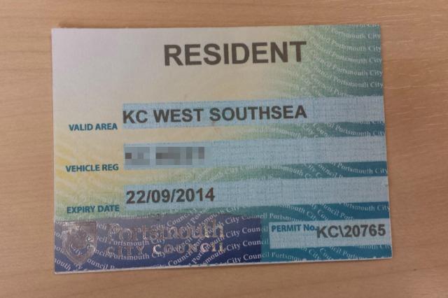 The fake permit