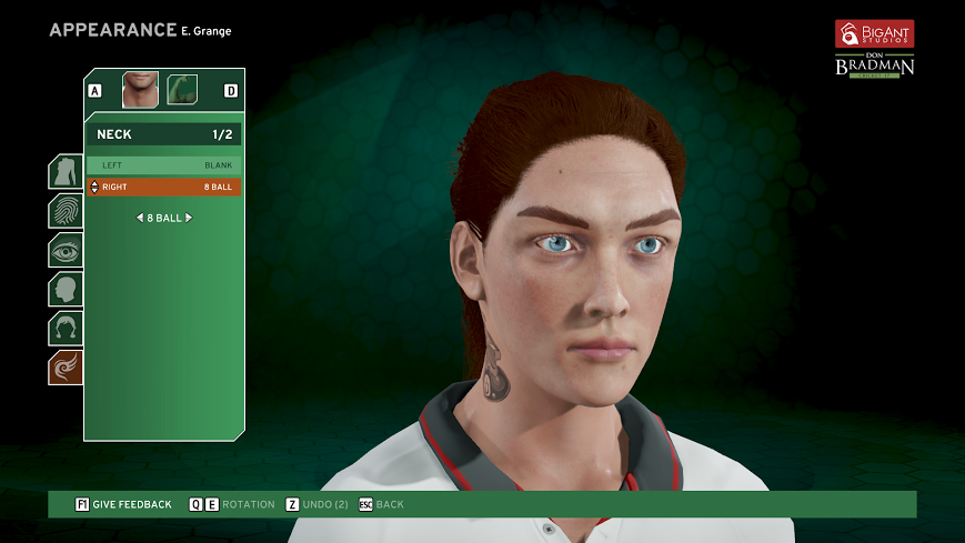 Big Ant Studio is the first developer in the world to feature women in a cricket game with Don Bradman...