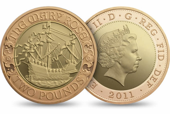 The Mary Rose coin