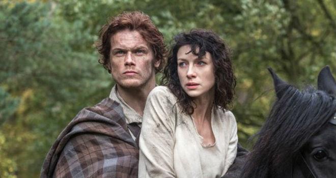 outlander season 1 midseason premiere date