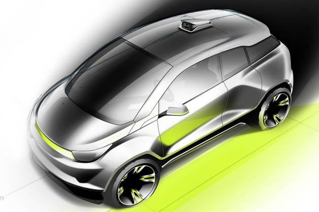 リンスピード、ジュネーブで披露する自動運転車のコンセプト「Budii」のイメージ画像を公開