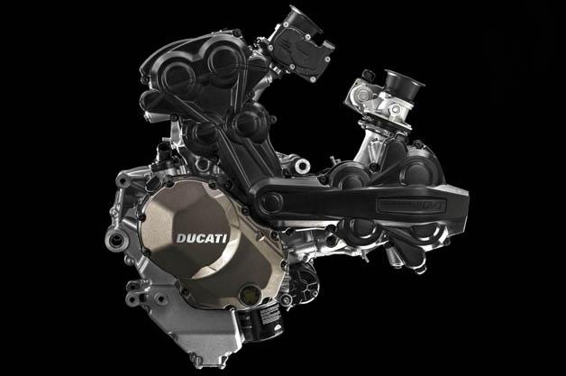 ドゥカティ、VWの技術を活かし燃費が向上した新エンジン「テスタストレッタDVT」を発表(ビデオ付)