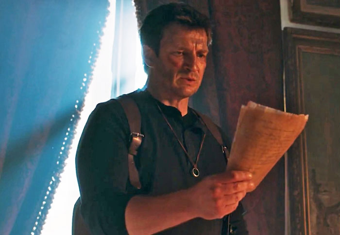 Nathan Fillion is a fitting star for an 'Uncharted' fan film
