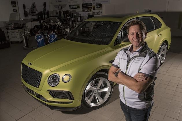 リース・ミレンがベントレー「ベンテイガ」でパイクスピークに参戦、市販SUV最速記録を狙う!
