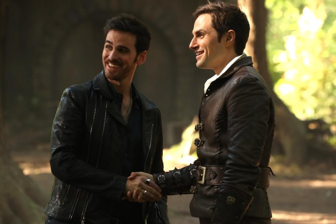"ONCE UPON A TIME - ""A Pirate's Life"" (ABC/Jack Rowand) COLIN O'DONOGHUE, ANDREW J. WEST"